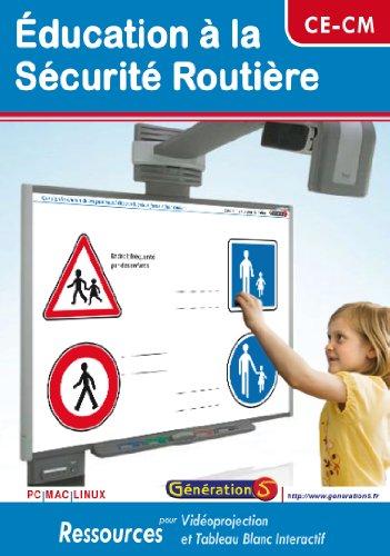 CD Ressources TBI/Vidéoprojection - Education à la Sécurité Routière (CE-CM)