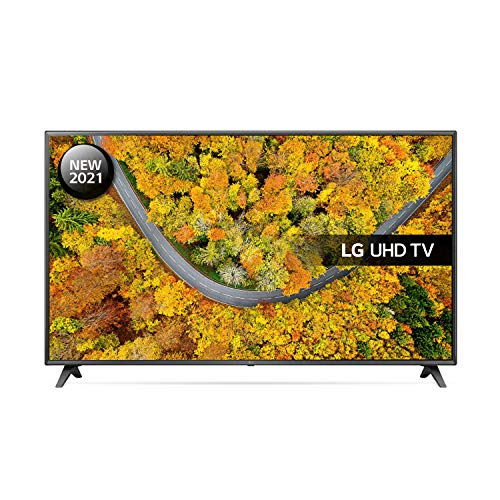 LG 43UP7500LF-ALEXA - Smart TV 4K UHD 108 cm (43') con Procesador Quad Core, HDR10 Pro, HLG, Sonido Virtual Surround, HDMI 2.0, USB 2.0, Bluetooth 5.0, WiFi