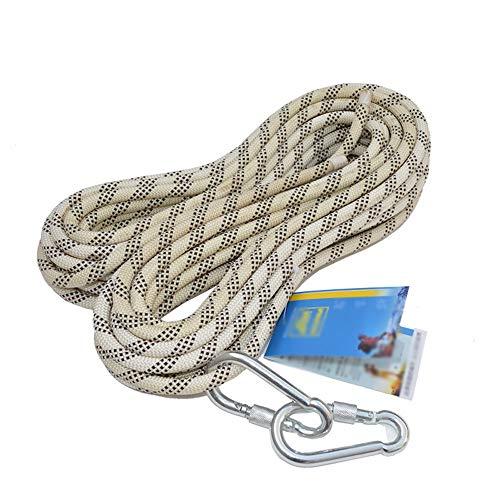 Cuerda de escalada MEI XU Cuerda de escalada estática Cuerda de escalada Cuerda de rappel Cuerda de seguridad Deportes al aire libre Equipo necesario Protección contra caídas Spider-man Cuerda de segu