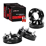 4 PCS 5x5.5 to 5x5 Wheel Spacers Adapters for 1994-2001 Ram 1500,1.5 inch Wheel Adapter with 1/2 Studs for E-150 Econoline F-150 Bromco