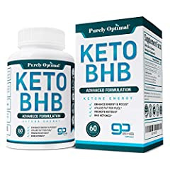 MAX EFFECTIVENESS: Let the power of exogenous ketones work for you! BHB salts (beta hydroxybutyrate) allow your body to utilize fat instead of carbs for major ENERGY, FOCUS, and STAMINA. You'll shed off some pounds while keeping a long-lasting energy...