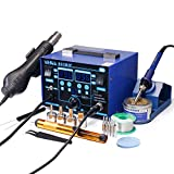 YIHUA 862BD+ SMD ESD Safe 2 in 1 Soldering Iron Hot Air Rework Station °F /°C...