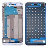 LCD súper Claro LCD Marco Frontal de la Carcasa del Bisel for Xiaomi redmi Nota 5A Primer / Y1 HD (Negro) (Color : White)