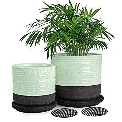 Succulent Pots, Small Flower Pots Indoor, 5 Inc...