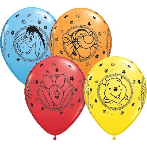 Partyklar 10 Luftballons Winnie Pooh 26cm