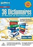 36 Dictionnaires et Recueils de Correspondance -