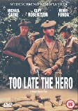 Too Late The Hero [Import anglais]
