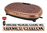 EILISON KM-818 Powerful Vibration Plate for Exercise - Whole Body Workout Vibration Platform Fitness...