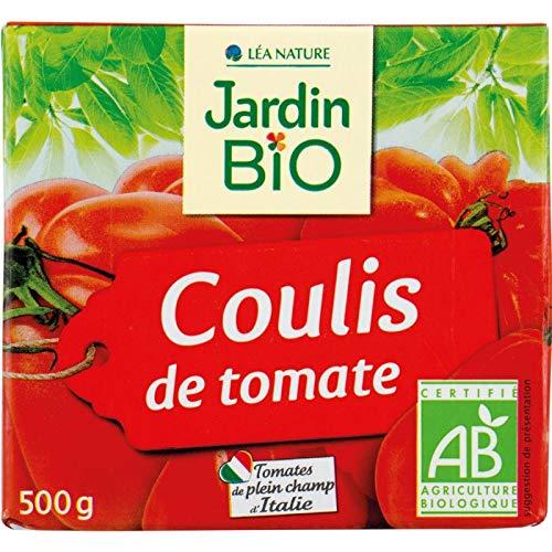 Jardin Bio - Coulis De Tomate Bio 500Ml - Lot De 4 - Prix Du Lot - Livraison Rapide En France Métropolitaine