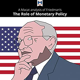 A Macat Analysis of Milton Friedman's The Role of Monetary Policy cover art