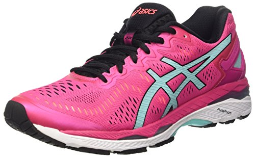 ASICS Gel-Kayano 23 W, Scarpe Sportive Outdoor Donna, Multicolore (Sport Pink/Aruba Blue/Flash Coral), 37 EU