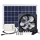 Best Solar Attic Fans - ECO HOUSE Solar Powered Attic Fan Powerful Vent Review