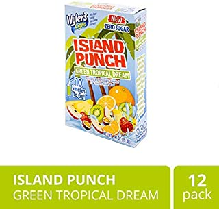 Wyler's Light Island Punch, Green Tropical Dream, 10 CT (Pack - 12)