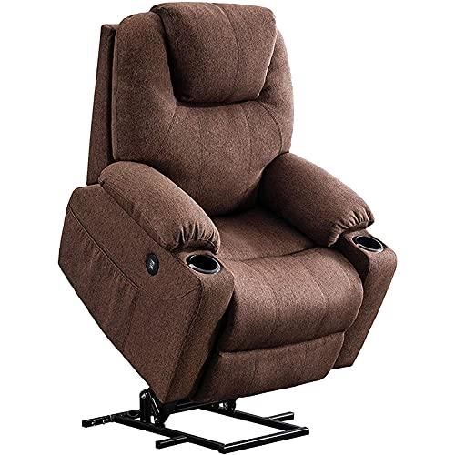 shu Sessel mit Aufstehhilfe Aufstehsessel Elektrisch Aufstehhilfe Fernsehsessel Relaxsessel Massage Heizung elektrisch verstellbar