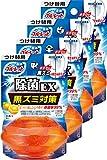 ブルーレット 液体 おくだけ除菌EX トイレタンク芳香洗浄剤 詰め替え用 スーパーオレンジの香り 70ml×4個