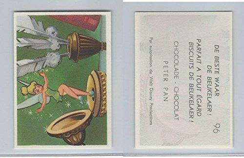 1958 De Beukelaer Biscuits, Chocolate, Walt Disney, Peter Pan, 96, ZQL