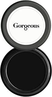 Gorgeous Cosmetics Cake Eyeliner, Black, Solid Cake Eyeliner That Requires Sealant