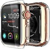 Yolin [2-Stück] All-Around TPU Displayschutz Kompatibel mit Apple Watch Series 6/ SE/Series 5 /...