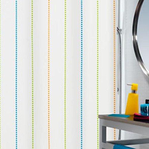 Gestreifte Polyester wasserdicht gepolstertes Schimmel continental Badezimmer gardinen Duschvorhang duschvorhang bad, 200x180 cm