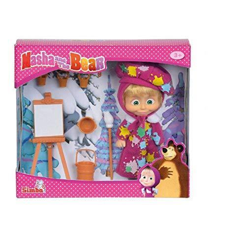 Boneca Masha E O Urso - Masha Pintura Divertida - Sunny