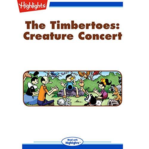 The Timbertoes: Creature Concert copertina