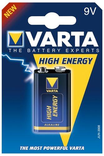 Varta High Energy Alkali Mangan 9V-Block Batterie