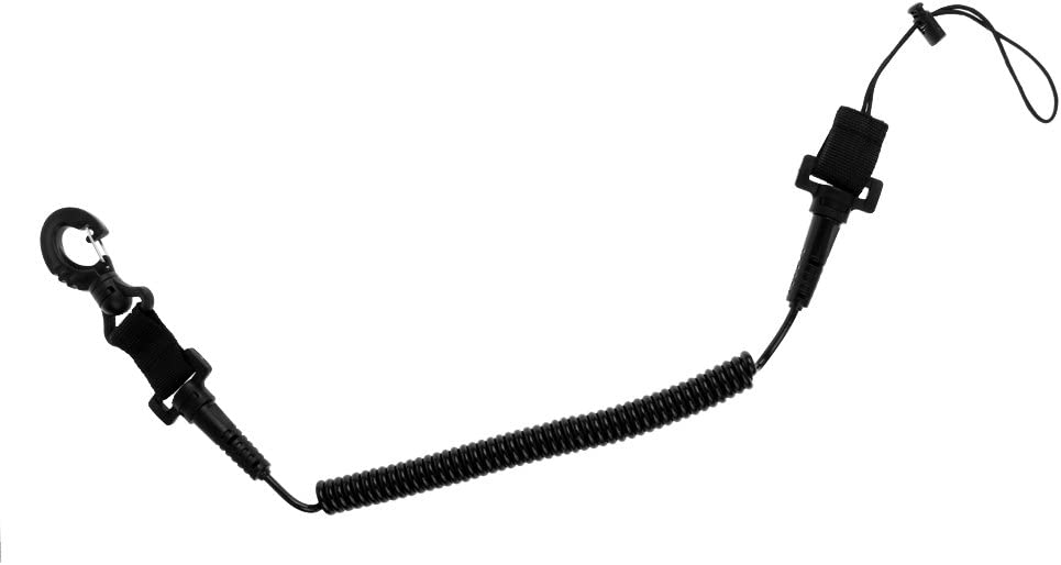 MagiDeal 20cm-150cm Special price for a limited time Ranking TOP20 Spiral Coiled Scuba Diving Camera Dive Lanya