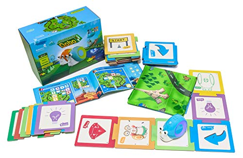 Coding Robot with Puzzle Card for Kids 3-8, Robobloq Qobo Preschool STEM...