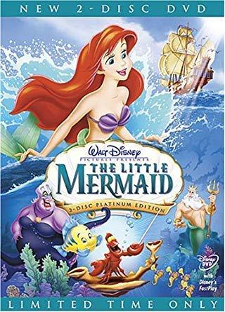 The Little Mermaid DVD Movie Platinum Edition (2-Disc Set)