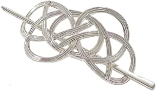 QTMY Viking Celtic Hair Clips Hairpins Irish Celtic Knot Hair Accessories for Long Hair Jewelry