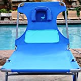 Best Beach Lounge Chairs - Ostrich Ladies Comfort Chaise Lounger - Blue Review