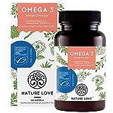 Omega 3 - leicht schluckbar: 120 Minikapseln mit Spitzenrohstoff AlaskOmega® (MSC-zertifiziert) - hochdosiert, ohne Zusätze in Deutschland produziert