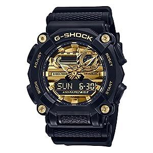 """[カシオ] 腕時計 ジーショック GA-900AG-1AJF メンズ ブラック"""""""