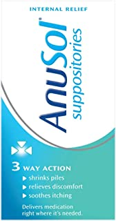 2 x Anusol Suppositories 24 (3 Way action