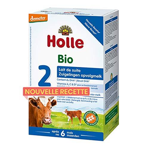 HOLLE - Lait De Suite 2 Bio & Demeter 600G - Lot De 2