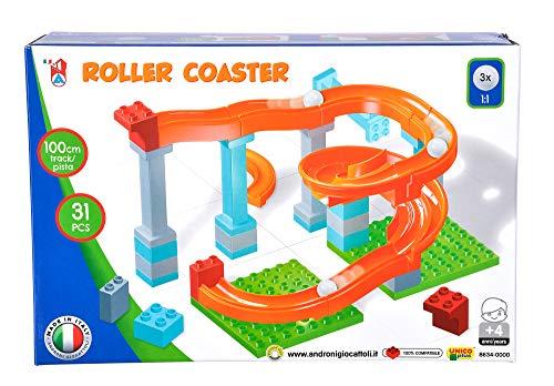 Simba 104114485, Kugelbahn, 31 Teile, für Kinder ab 4 Jahren, 3 Kugeln, Lauflänge 100 cm