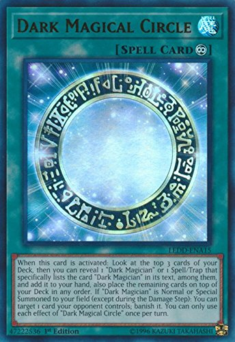 Dark Magical Circle - LEDD-ENA15 - Ultra Rare - 1st Edition - Legendary Dragon Decks (1st Edition)