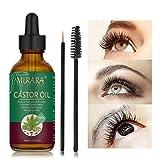 Aceite de ricino para el crecimiento del cabello: aceite de ricino para pestañas y cejas, suero para el crecimiento de las cejas y suero para el crecimiento del cabello