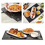 DAPU Food Warmer Warming Tray with Adjustable Temperature Control touch panel (16'x 24')