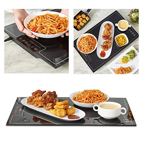 """Food Warmer Warming Tray with Adjustable Temperature Control touch panel (16""""x 24""""-)"""