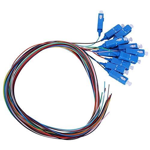 12-adriges Einzelfaser-, stabiles Glasfaser-Pigtail-Kabel, Instrumente Lokale Netzwerke Glasfaserkommunikationssysteme Für lokale Glasfasernetzwerke