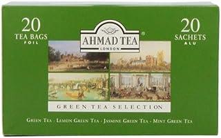 Ahmad Tea Green Tea Selection, 20-Count (Pack of 6)