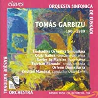 バスク音楽集成シリーズ 第8集 (Tomas Garbizu: Works With Orchestra)