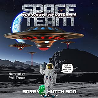 Space Team: The Wrath of Vajazzle audiobook cover art