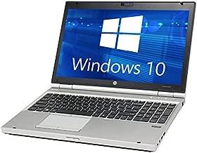 HP Elitebook 8560p Laptop Webcam - Core i5 2.5ghz - 16GB DDR3 - 120GB SSD - DVDRW - Windows 10 Home 64bit - (Certified Refurbished)