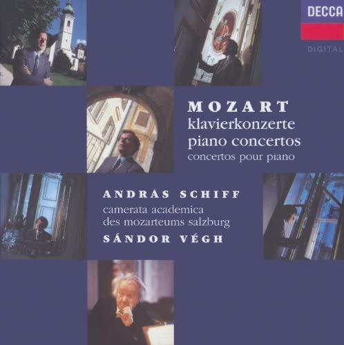 András Schiff, Camerata Academica des Mozarteums Salzburg, Sándor Végh & Wolfgang Amadeus Mozart