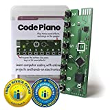 Code Piano S.T.E.A.M. Toy for Kids 8,9,10,11,12 to Learn Real Coding and Technology Skills - Includes Access to 14 Online Projects and Songs That Teach Typed Programming