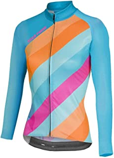 Uglyfrog Women Cycling Jersey Long Sleeve Road Biking MTB Sportswear Top Great Gifts for Ladies
