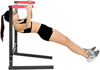 Parallel Bars Gymnastics For Home,Yirise Dipping Station Dip Stand Pull Push Up Bar Fitness Exercise Workout Gym 440Lbs,Power Tower Workout Dip Station For Home Gym Strength Training Fitness Equipment