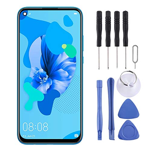 ELECTRONICS MobilePhone REPLACEMENT PART GZT LCD-scherm en Digitizer Volledige Vergadering for Huawei P20 Lite (2019) (zwart) (Color : Black)